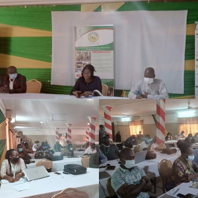 ANADEB Savanes fait le point des activités liées au projet EJV
