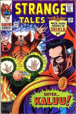 Strange Tales #148, Dr Strange vs Kaluu