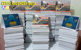 Tempat Cetak Kalender Duduk Meja Terdekat di Kiaracondong, Bandung