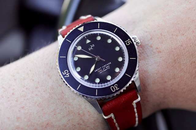 About Vintage 1926 At'Sea Automatic