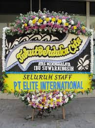 Jual karangan Bunga Deepest Condolance Di Sudimara Timur