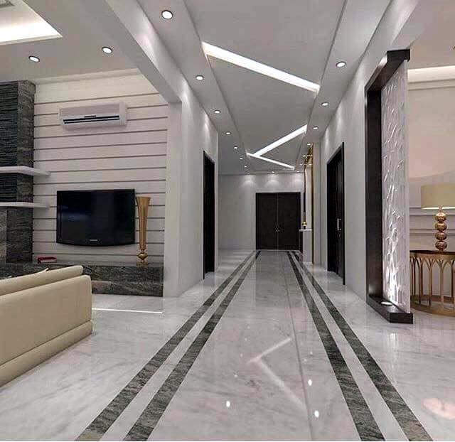 ديكورات اسقف معلقة جبس بورد تصميمات خرافية لكل بيت 2019