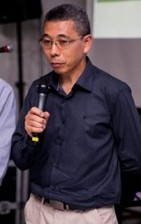 O empresário Yutaka Ishida, novo presidente da Aceja, eleito para o biênio 2019/2020.