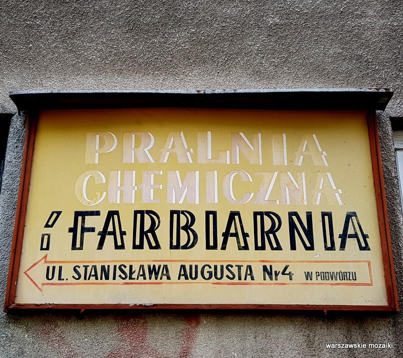 Warszawa Warsaw retro szyld warszawskie szyldy