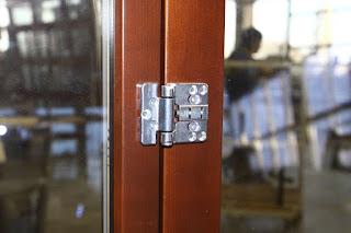 Деревянная дверь гармошка FS