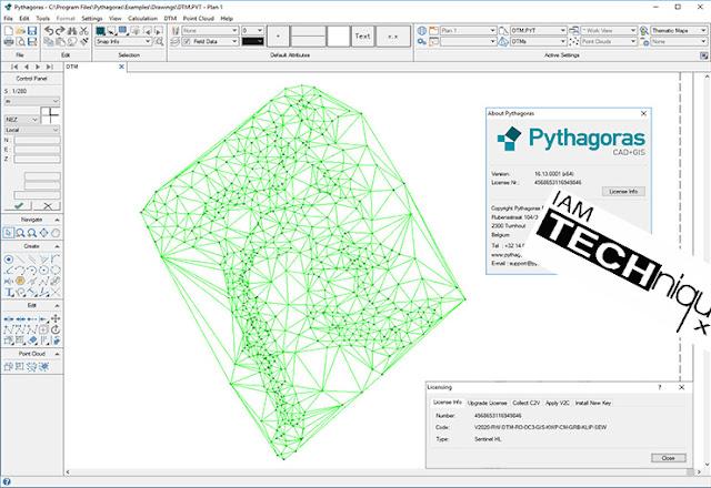 Pythagoras CAD GIS v16.13 x64
