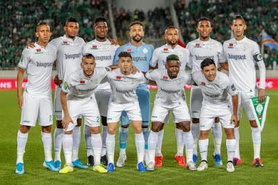 ملخص واهداف مباراة الرجاء وخريبكة (2-1) الدوري المغربي