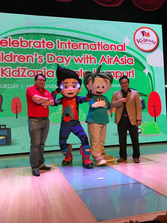 AirAsia & Kidzania | International Children's Day