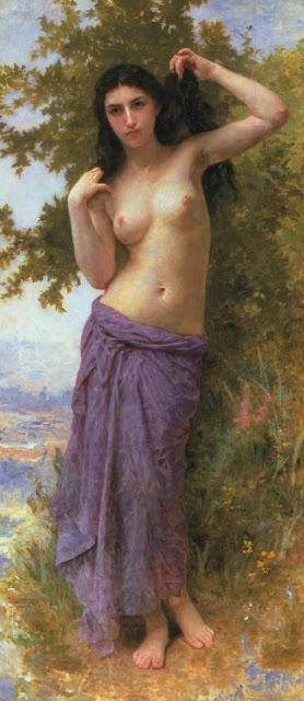 Адольф Вильям Бугро - Римская красавица (1904)