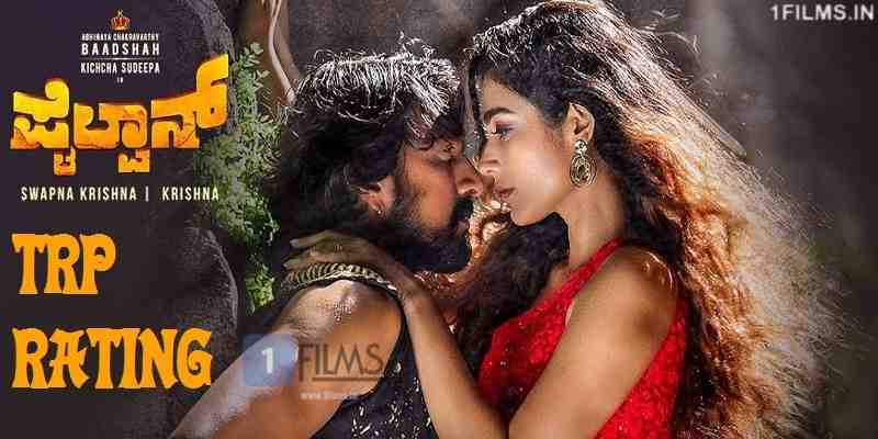 Pailwaan Kannada Movie WTP TRP Ratings
