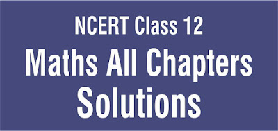 NCERT Solutions for Class 12 Maths all Chapters