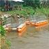 KA600D64 Perahu Aluminium Pembersih Sungai atau Pemungut Sampah Sungai