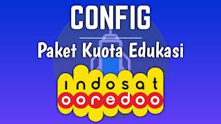 Config Paket Kuota Edukasi Indosat
