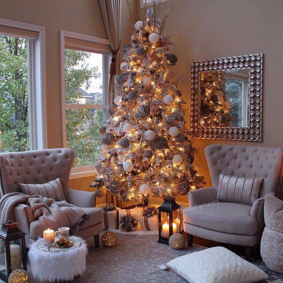 20%2BDIY%2BModern%2BChristmas%2BTree%2BDecorations%2Bfor%2BInspiring%2BWinter%2BHolidays%2B%25283%2529 20 DIY Trendy Christmas Tree Decorations for Inspiring Iciness Vacations Interior