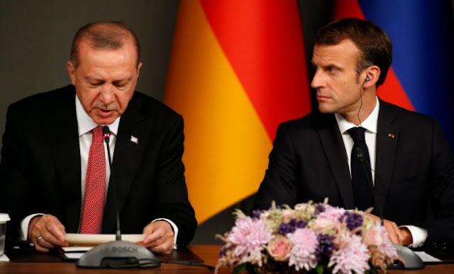 Ένταση στις σχέσεις Γαλλίας-Τουρκίας