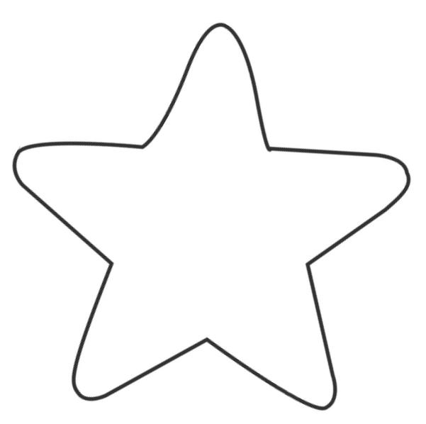 Molde de ESTRELLAS Imagui
