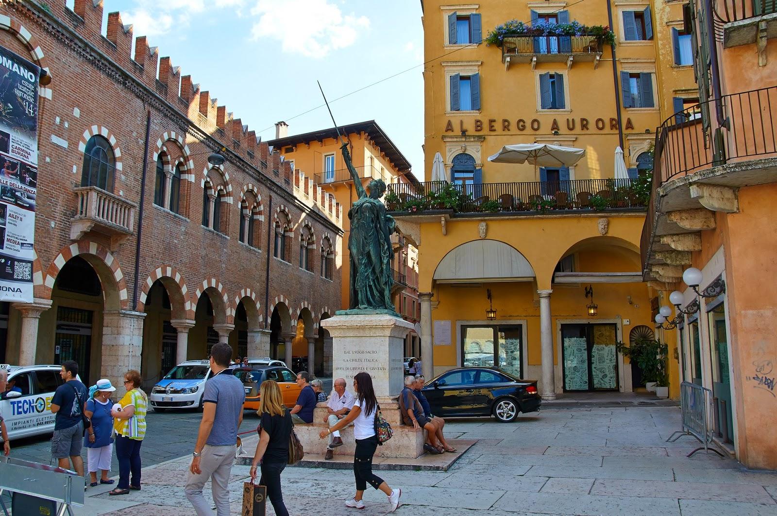 Werona, Włochy północne, miasteczko