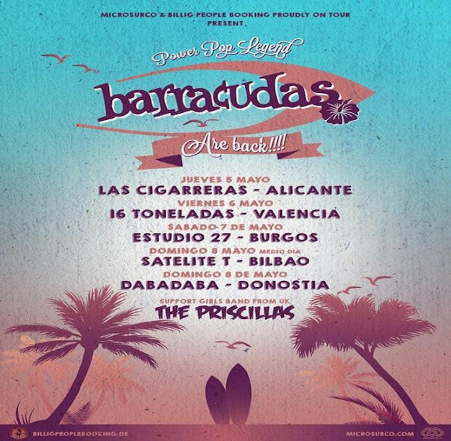 Gira 2016 Barracudas