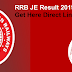 RRB JE Result 2019 Out - Get Here Direct Link to Download RRB JE Result Status & Score Card