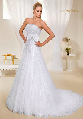 vestidos de noiva tomara que caia vestido princesa simples leve lindo maravilhoso top tqc moderno laço bordado