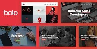 Bolo Creative Multipurpose Responsive Website Templates