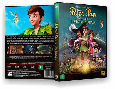 CAPA DVD – Peter Pan À Procura Do Livro Do Nunca DVD-R