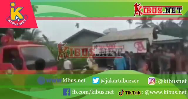 Kebakaran Desa Sei Apung Kabupaten Asahan Sumatera Utara