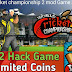 World Cricket Championship 2 wcc2 mod hack game Unlimited coins free download