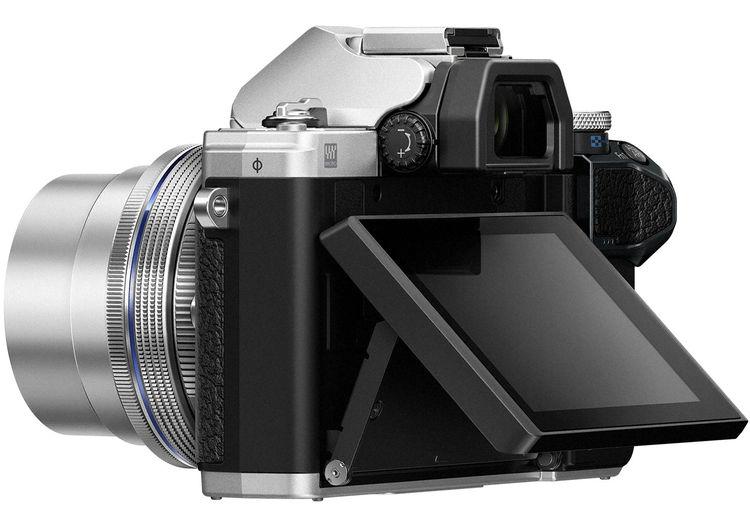 Olympus OM-D E-M10 Mark III, наклонный экран