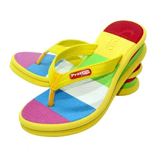 sandal Pretty rain bow