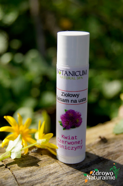 Botanicum Natural Spa - Ziołowy balsam na usta