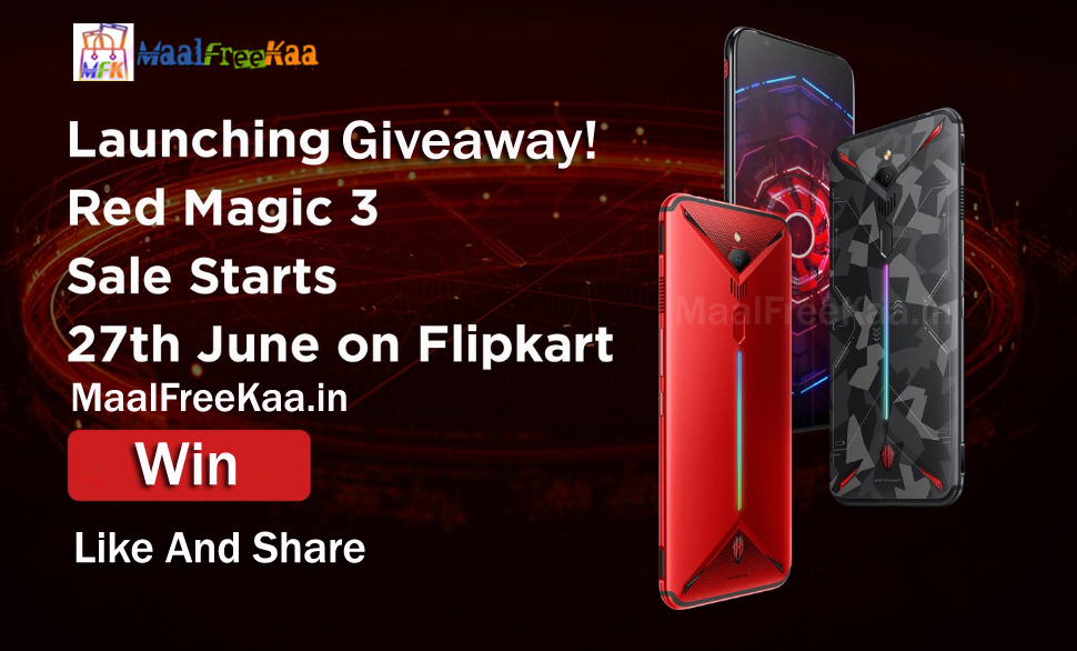 Giveaway Win- Red Magic 3 Smartphone - Freebie Giveaway Contest