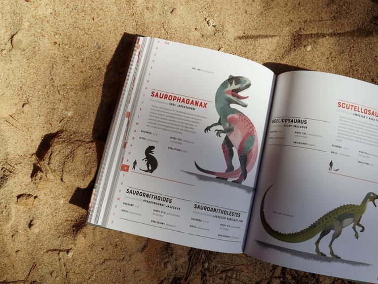 Dinozaury od A do Z, Wydawnictwo Kropka, otymze.pl