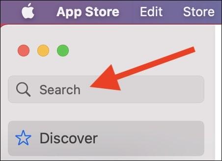 Pencarian di App Store Mac OS Big Sur GaptoGeek