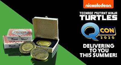 San Diego Comic-Con 2020 Exclusive Teenage Mutant Ninja Turtles Pizza Box Set by Quantum Mechanix