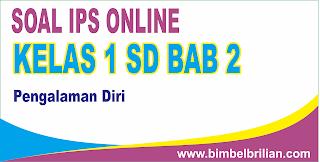 Soal IPS Online Kelas 1 SD Bab 2 Pengalaman Diri - Langsung Ada Nilainya