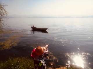 Erhai lake by Das Bikash Kali
