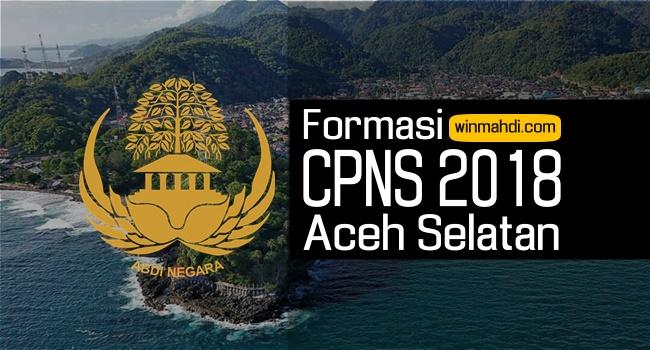 Formasi CPNS Aceh Selatan