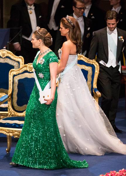 princesses 39 lives nobel prize ceremony 2012. Black Bedroom Furniture Sets. Home Design Ideas