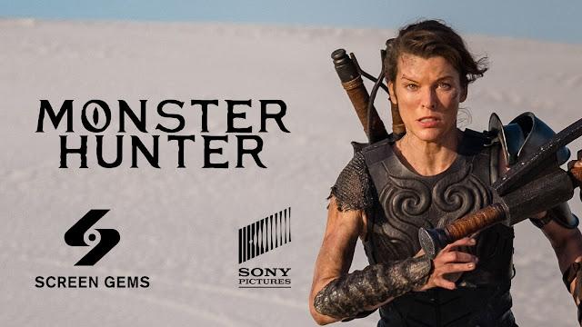 monster hunter movie teaser trailer black diablos comic-con russia milla jovovich capcom constantin films screen gems sony pictures tencent