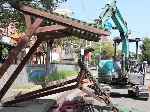 員林市萬年路改善工程 今動工打造新風貌