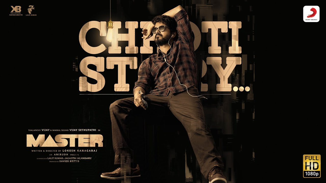 Chhoti Story Lyrics Vijay The Master | Nakash Aziz