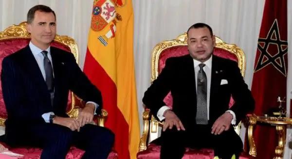 العاهل الإسباني يبعث ببرقية إلى الملك محمد السادس