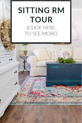 DIY Beautify cottage sitting room tour