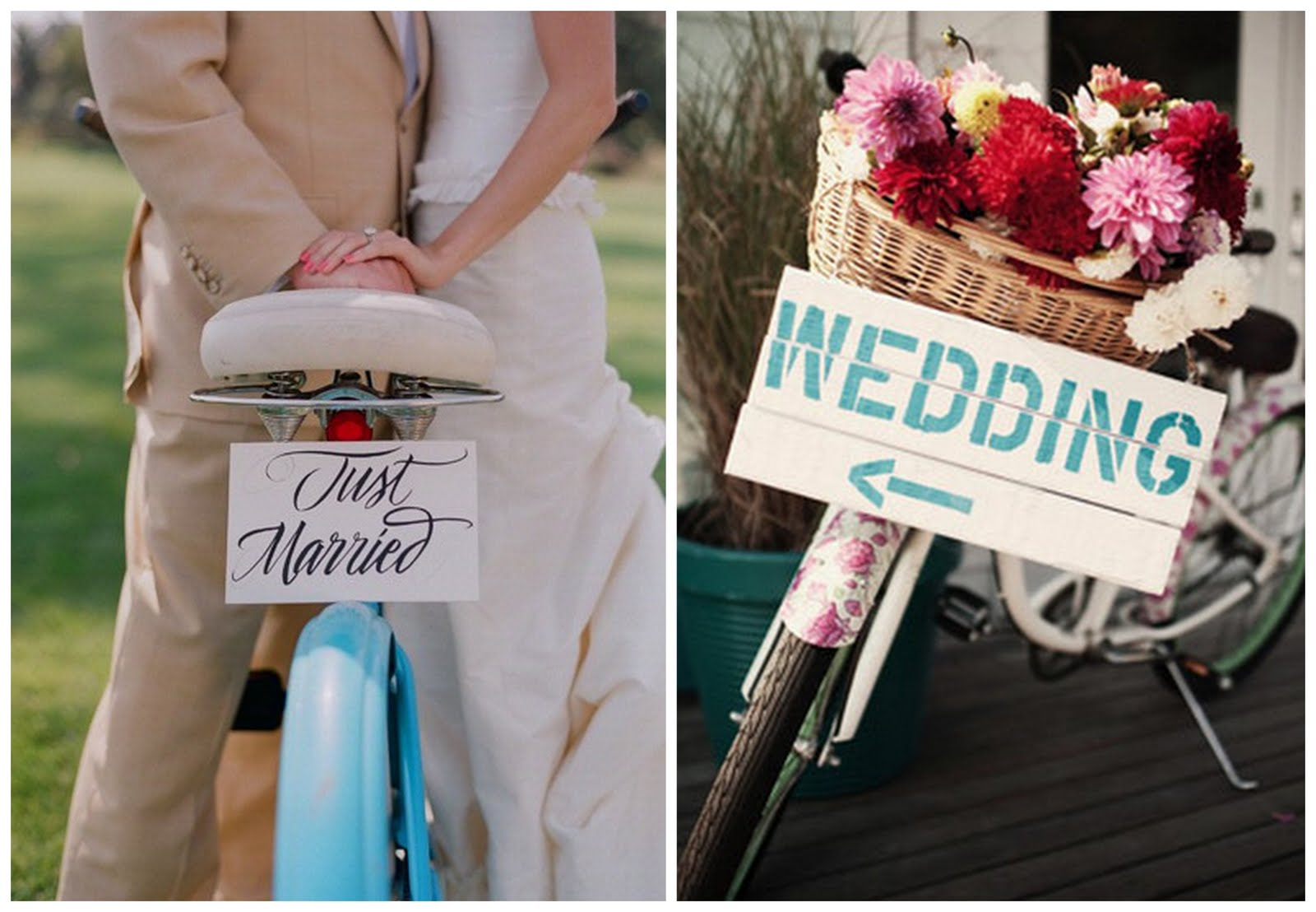 On Your Wedding Day By Unknown: Before The Big Day Wedding Theme: Bicycles