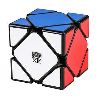 Membandingkan rubik X-Man Wingy Magnetic dengan MoYu Skewb Magnetic
