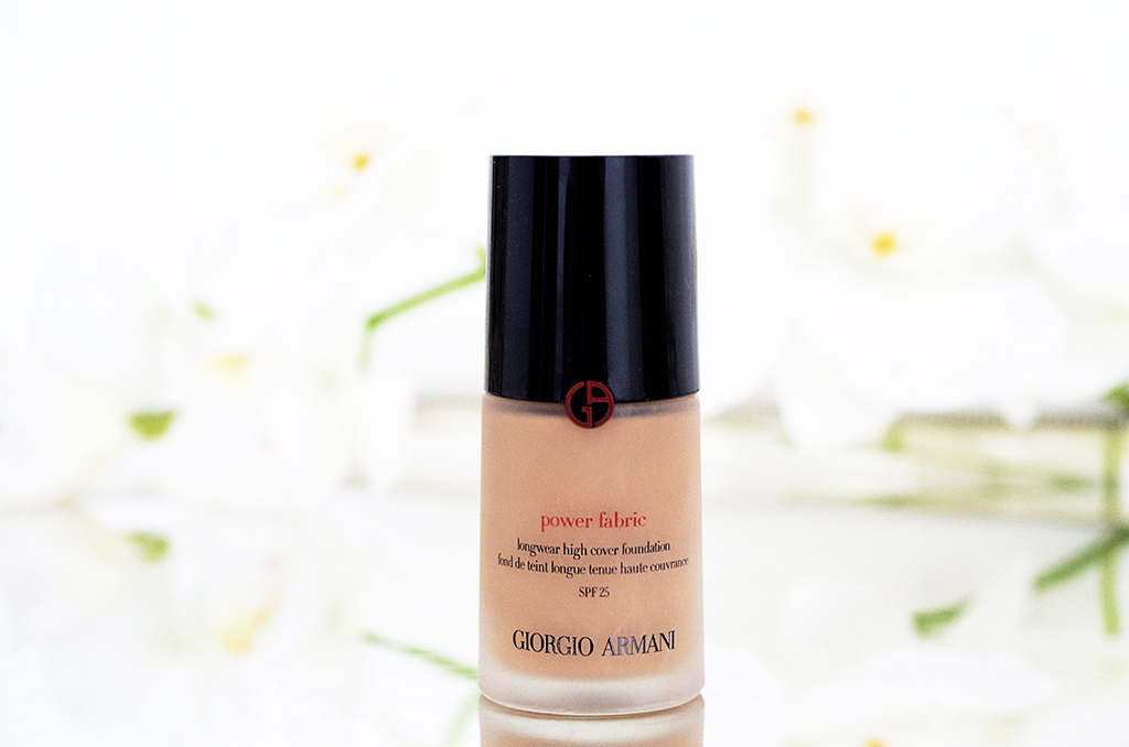 Elizabeth l Beauty review Giorgio Armani power fabric foundation l THEDEETSONE l http://thedeetsone.blogspot.fr
