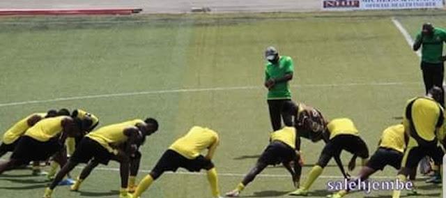 KIKOSI CHA YANGA LEODHIDI YA.MBAO FC
