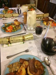 Christmas meal at Pig Row