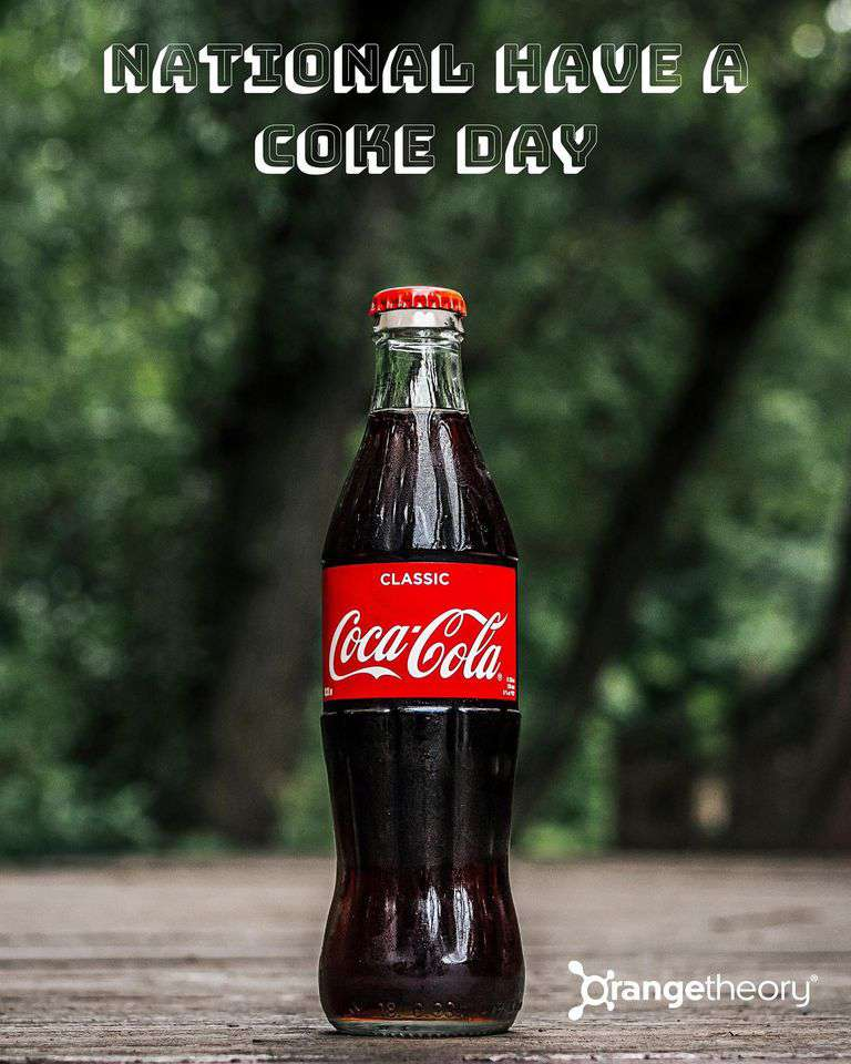 National Have a Coke Day Wishes Beautiful Image